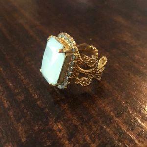 Sorrelli adjustable ring